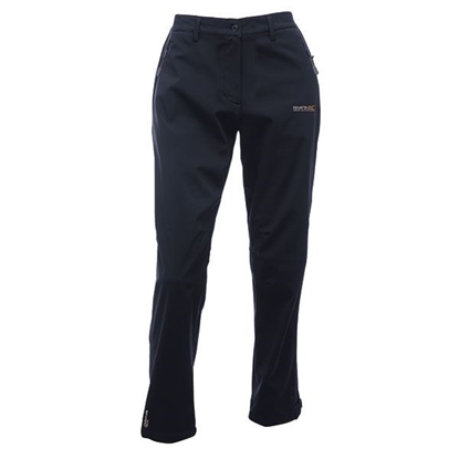 Obrázek REGATTA GEO SOFTSHELL TRS II RWJ113L dámské kalhoty