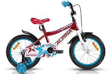 Obrázek  ALPINA STARTER  cyklistické kolo dětské rám 16 palců