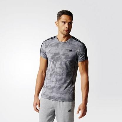 Obrázek ADIDAS ESSENTIAL 3S AOP TEE pánské triko