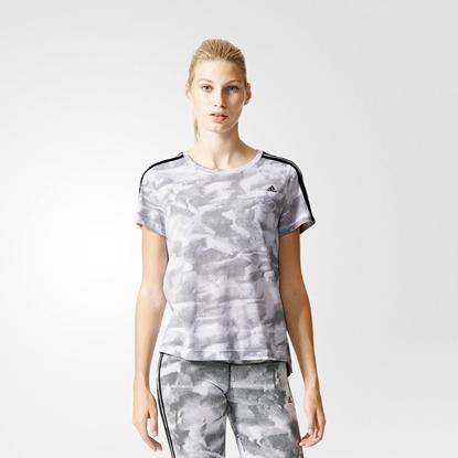 Obrázek ADIDAS ESS BOXY TEE PAPERPRINT dámské triko