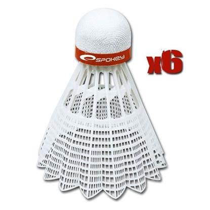 Obrázek SPOKEY SHOOT 6KS badmintonový míčky