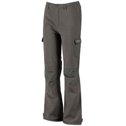 Obrázek REGATTA WINTER SSHELL TRS RKJ018 dětské soft kalhoty
