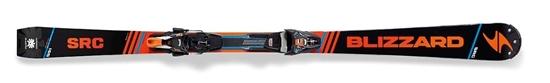 Obrázek z set sjezdové lyže BLIZZARD BLIZZARD SRC Racing Suspension, 17/18 + vázání BLIZZARD XCELL 12 DEMO, blk./or./blue, 17/18