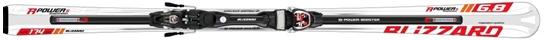 Obrázek z set sjezdové lyže BLIZZARD R-Power Suspension IQ vázání IQ Power 14 black