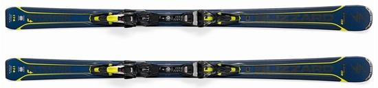 Obrázek z set sjezdové lyže BLIZZARD Quattro 8.0 Ti, blue/yellow TCX 12 DEMO, bl./ant./yell.
