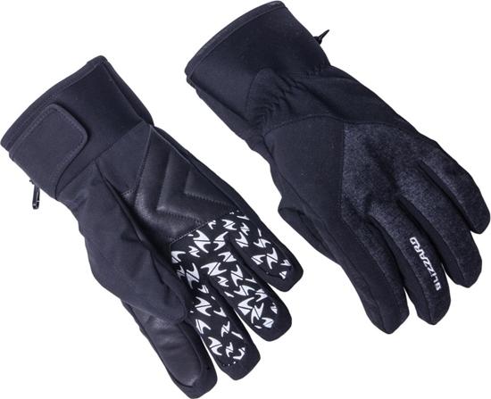 Obrázek z lyžařské rukavice BLIZZARD Chamonix ski gloves, black/grey