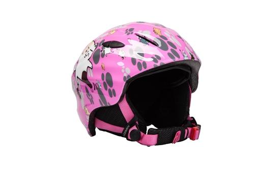 Obrázek z helma BLIZZARD Magnum ski helmet junior, pink cat shiny