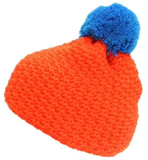 Obrázek z čepice BLIZZARD Mixer, orange/blue