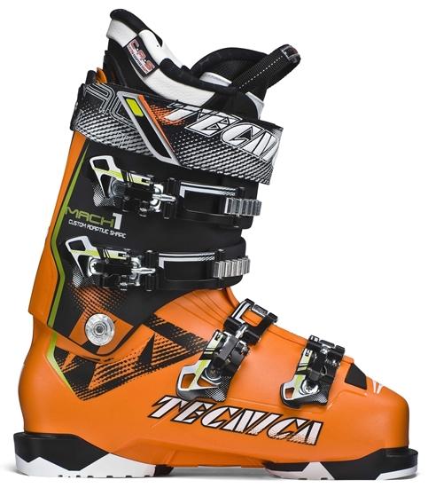 Obrázek z lyžařské boty TECNICA Mach1 130, br. orange/black