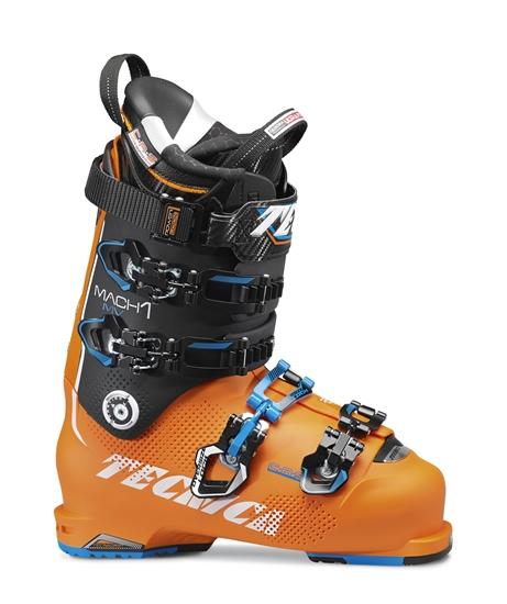 Obrázek z lyžařské boty TECNICA Mach1 130 MV, brightorange/black, size MP 255, použité