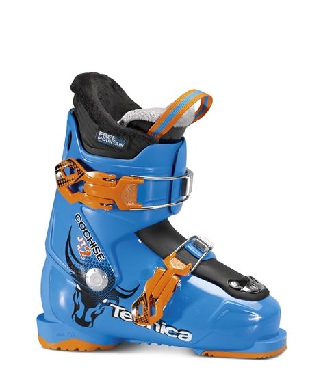 Obrázek z lyžařské boty TECNICA JTR 2 Cochise, procces blue,rental