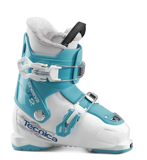 Obrázek z lyžařské boty TECNICA JT 2 Sheeva, white/blue bird, 17/18