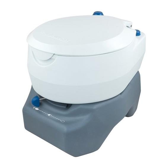 Obrázek z CAMPINGAZ® 20L PORTABLE TOILET, barva bílá/šedá (odpadní nádrž 20L)