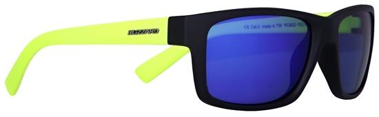 Obrázek z sluneční brýle BLIZZARD sun glasses PC602-153 rubber black, 67-17-135