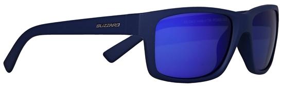 Obrázek z sluneční brýle BLIZZARD BLIZZARD sun glasses PC602-333 rubber dark blue, 67-17-135