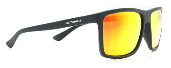 Obrázek z sluneční brýle BLIZZARD BLIZZARD sun glasses PC801-112 rubber black, 65-17-140