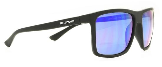 Obrázek z sluneční brýle BLIZZARD sun glasses PC801-113 rubber black, 65-17-140