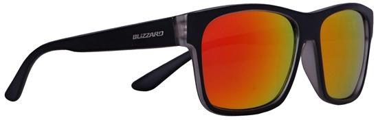 Obrázek z sluneční brýle BLIZZARD sun glasses PC802-312 transparent matt/outside black matt, 64-17-143