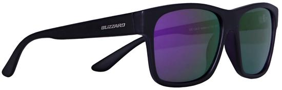 Obrázek z sluneční brýle BLIZZARD sun glasses PC802-619 transparent purple matt/outside black matt, 64-17-143