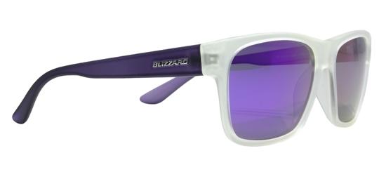 Obrázek z sluneční brýle BLIZZARD BLIZZARD sun glasses POL802-369 rubber transparent, 64-17-143, AKCE