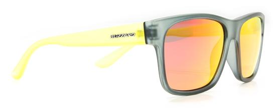 Obrázek z sluneční brýle BLIZZARD BLIZZARD sun glasses POL802-456 rubber black transparent, 64-17-143, AKCE