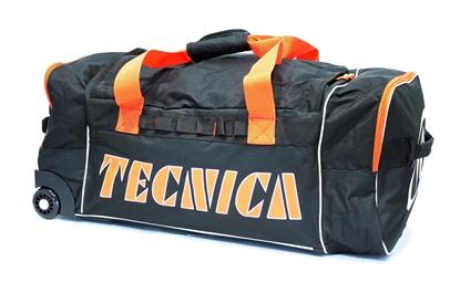 Obrázek cestovní taška TECNICA Roller travel bag, black/orange