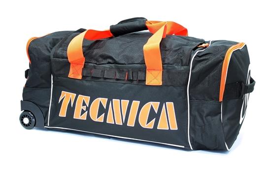 Obrázek z cestovní taška TECNICA Roller travel bag, black/orange