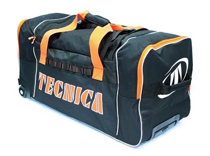 Obrázek sportovní taška TECNICA Team travel bag, black/orange, AKCE