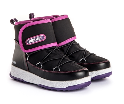 Obrázek winter moonboots boty MOON BOOT TECNICA MOON WE JR STRAP WP, 005 black/orchid