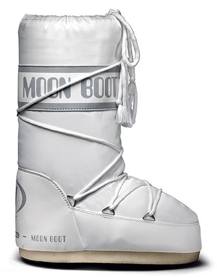 Obrázek z boty MOON BOOT MOON BOOT MINI NYLON, 006 white, AKCE