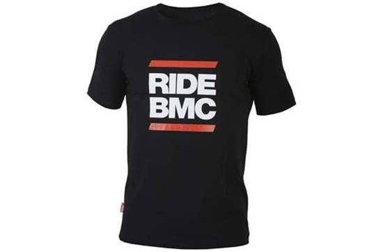 Obrázek z tričko BMC T-shirt 'RIDE BMC', black, AKCE
