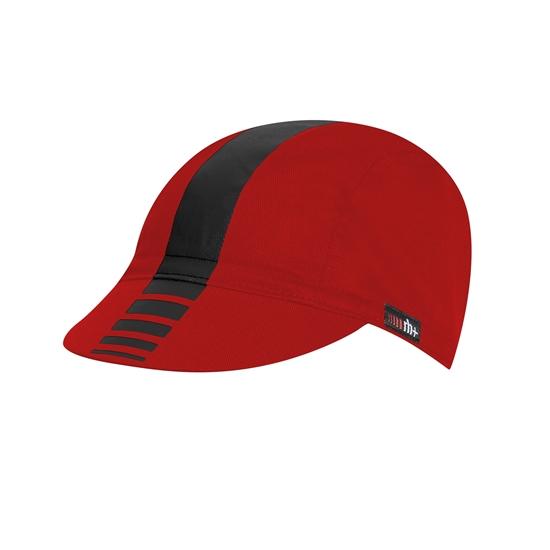 Obrázek z čepice RH+ Zero Cycling Cap, red/black,