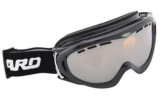 Obrázek z lyžařské brýle BLIZZARD BLIZ Ski Gog. 905 MDAVZFO, black met., amber2-3, silver mirror, photo