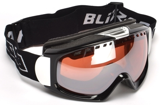 Obrázek z lyžařské brýle BLIZZARD Ski Gog. 933 MDAVZS, black matt, amber2, silver mirror