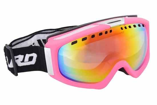 Obrázek z lyžařské brýle BLIZZARD Ski Gog. 933 MDAVZS, neon pink matt, rosa2, silver mirror, AKCE