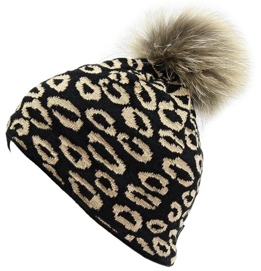 Obrázek z čepice BLIZZARD Leopard, black