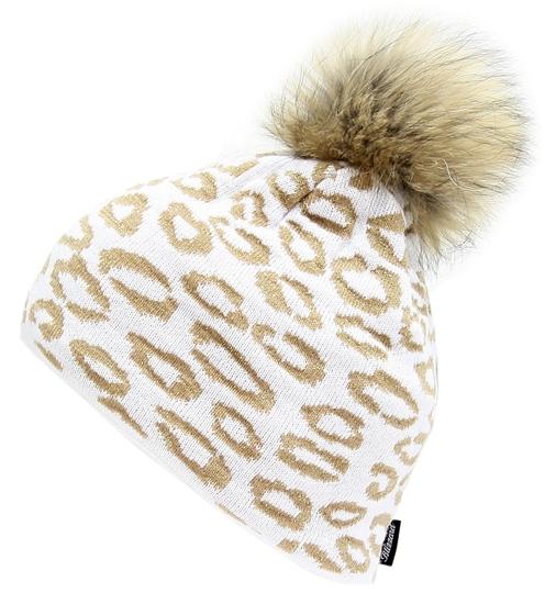 Obrázek z čepice BLIZZARD Leopard, white