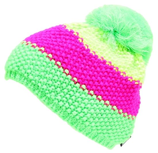 Obrázek z čepice BLIZZARD Tricolor, yellow/pink/green