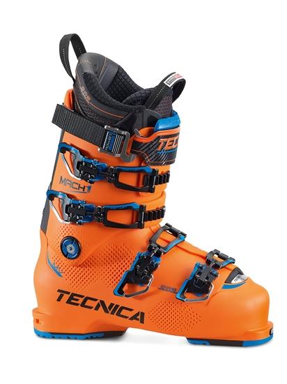 Obrázek z lyžařské boty TECNICA Mach1 130 MV, bright orange/black