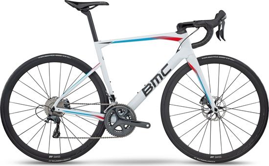 Obrázek z silniční kolo BMC BMC 224148 Roadmachine 01 Ultegra, white/blue, 2017
