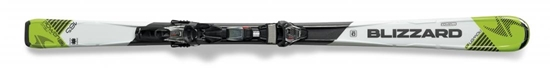 Obrázek z set sjezdové lyže BLIZZARD II. Power S3 IQ, white/green IQ TP10