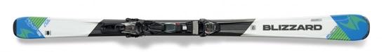 Obrázek z set sjezdové lyže BLIZZARD II. Power X7 IQ, white/blue IQ TP10 CM2