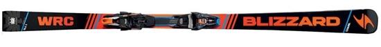 Obrázek z set sjezdové lyže BLIZZARD II. WRC Racing Suspension XCELL 12 DEMO, blk./or./blue