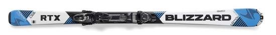 Obrázek z set sjezdové lyže BLIZZARD II. RTX Power TP 10 DEMO, rental, blk./ant.