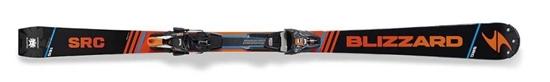 Obrázek z set sjezdové lyže BLIZZARD SRC Racing Suspension, 17/18 + vázání  XCELL 12 DEMO, blk./or./blue, 17/18
