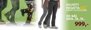 Kalhoty Regatta