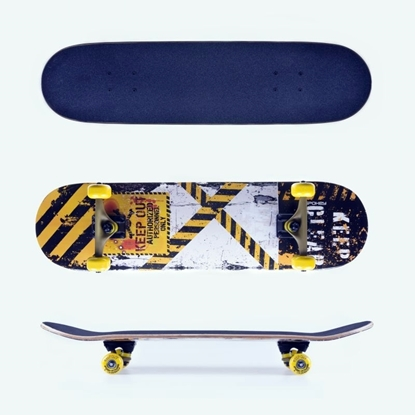 SPOKEY KEEPOUT skateboard