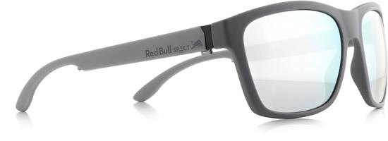 Obrázek z sluneční brýle RED BULL SPECT RB SPECT Sun glasses, WING2-003, matt dark, grey/smoke with silver mirror, 57-17-145, AKCE