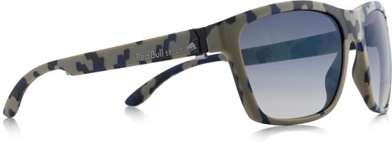 Obrázek z sluneční brýle RED BULL SPECT RB SPECT Sun glasses, WING2-006, matt camouflage/smoke with blue REVO, 57- 17-145, AKCE