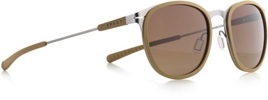 Obrázek z sluneční brýle SPECT SPECT Sun glasses, SKILL-002P, matt mustard/brown gradient POL, 50-21-140